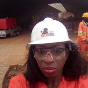 La pionnière dans la construction écologique en Afrique